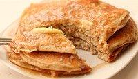 Cinnamon Coconut Protein Pancakes