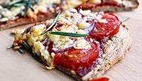 GLUTEN-FREE SWEET POTATO PROTEIN PIZZA