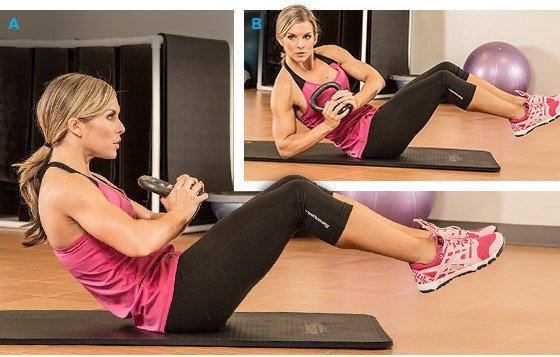 Best Abs Fitness Core Workout Screenshot