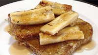 GRILLED BANANA FRENCH TOAST