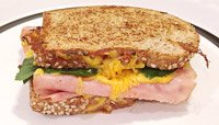 HAM-AND-CHEESE BREAKFAST GRILLER