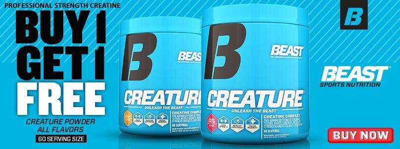 Buy 1 Get 1 Creature Powder!