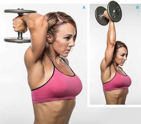 Best 10 Moves For Herculean Triceps