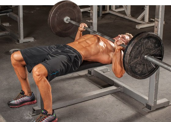 Image result for bench press setup