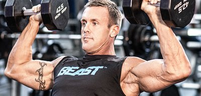 Brandan Fokken's Mile-Wide-Shoulder Workout