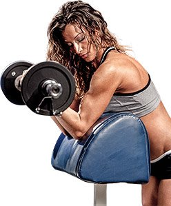 Masculinization in females does not occur as a result of heavy weight training.
