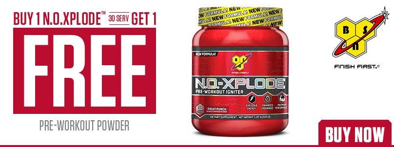 BSN N.O.-Xplode Buy 1 Get 1 FREE!