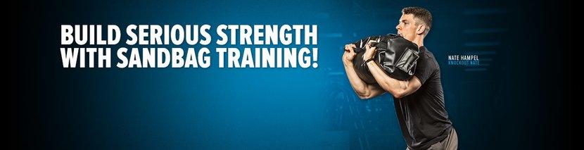 Build Serious Strength With Sandbag Training!