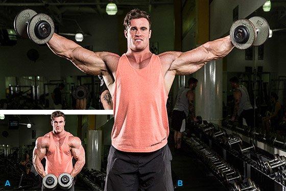 Убойная тренировка плеч