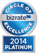 Bizrate Platinum Circle Of Excellence