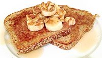 BANANA-WALNUT FRENCH TOAST