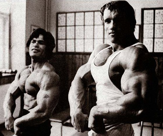 Ed Norney and Arnold