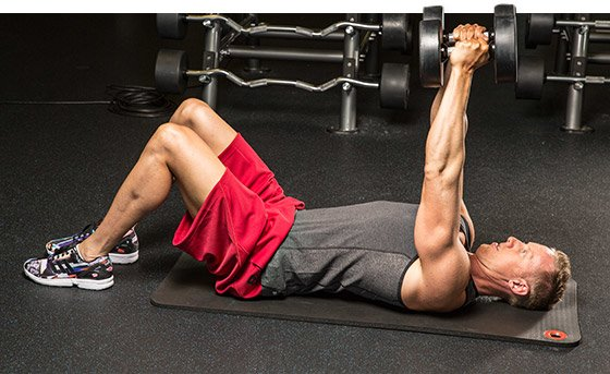 Awesome Dumbbell Floor Press