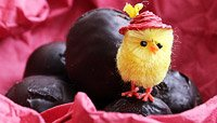 DARK CHOCOLATE PROTEIN EASTER EGGS