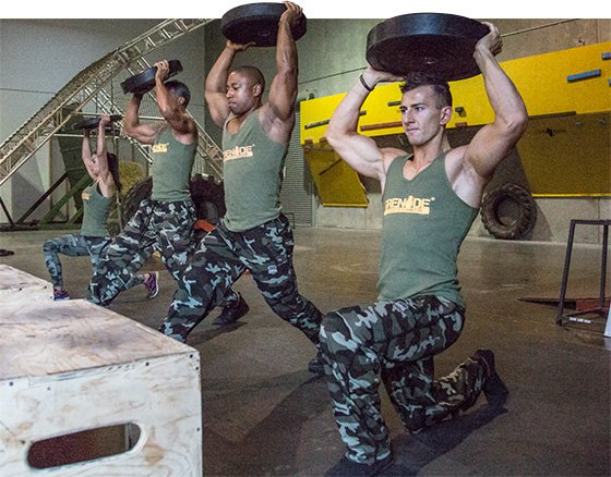 Boot Camp Fit: Grenade's Rhino CrossFit Boot Camp Workout