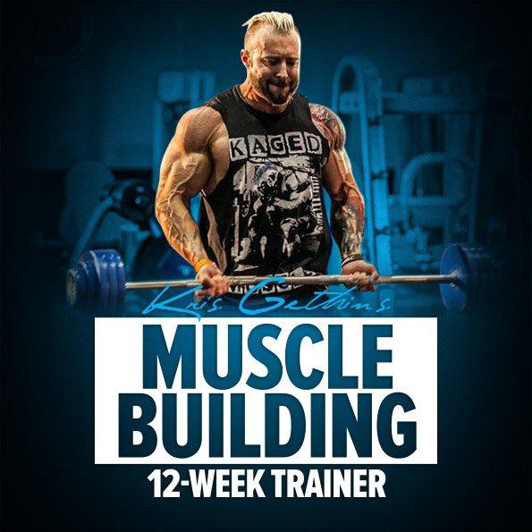 Kris Gethin's 12-Week Muscle-Building Trainer ...