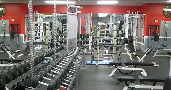 Gyms of the month all world s a weight room
