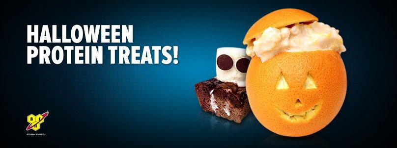 Halloween Protein Treats