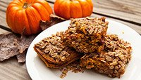 PUMPKIN CRANBERRY STREUSEL BARS