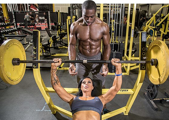 It's important to find a partner who has similar reasons for working out than you.