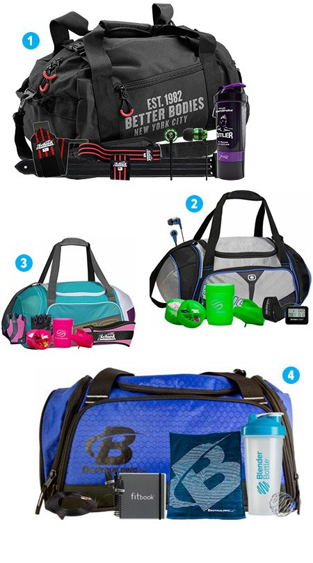 how to pack a workout bag
