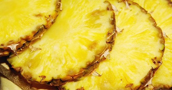 Bromelain is what I'm talking about! This is a powerful anti-inflammatory substance and pineapple is rich in it.
