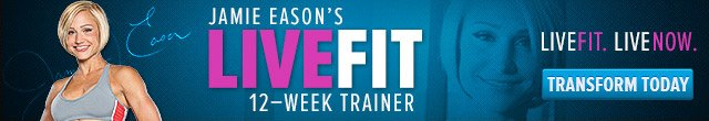 Jamie Eason's LiveFit 12-Week Trainer - LiveFit. LiveNow. Transform Today