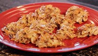 JAMIE EASON'S TOASTED COCONUT PROTEIN HAYSTACK COOKIES RECIPE