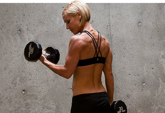A high rep workout exhausts ATP in your muscle and leads to temporary hardness