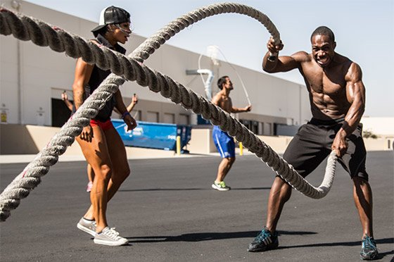 The best exercises to use for the compound movements are variations of strongman lifts like carries, sled pushes and pulls, battling ropes, etc.