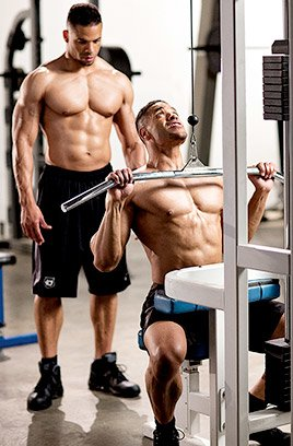 Behind the personas are two guys with some serious fitness chops.