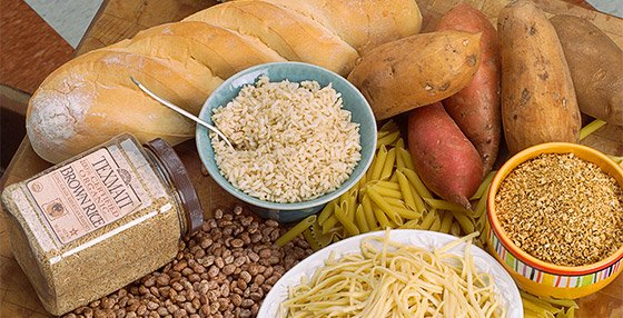 If carbs are too high, fat loss cannot occur, but for continued fat loss carbs should remain in the diet.