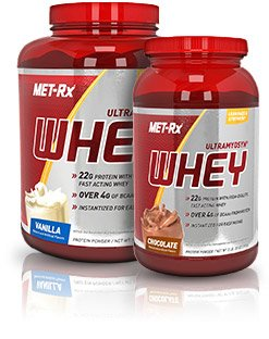 Met-rx whey protein
