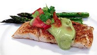 Smoky Snapper with Avocado Verde Sauce