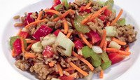 Wild and Brown Rice Salad