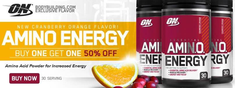Buy 1 Get 1 50% off Optimum AmiN.O. Energy