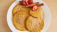 Pumpkin Spice Pancakes by Jamie Eason