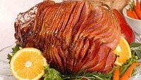 Apple-Ginger Glazed Ham