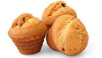 Low-Sugar Blueberry Muffins