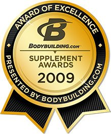 Bodybuilding.com Supplement Awards 2009 - Winners