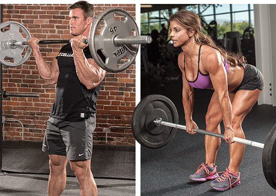 Cellucor Athletes Calum Von Moger, left, Jen Jewell
