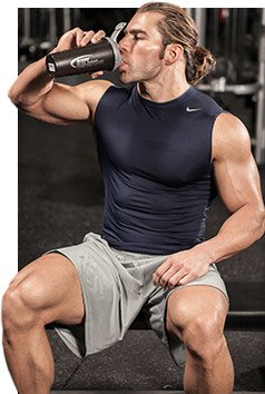 Glutamine is the most important component of muscle protein, and helps repair and build muscle.