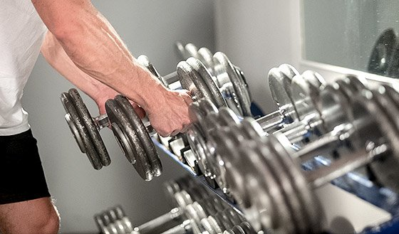 Place dumbells back on the rack in the slots where they belong and always remove your weights from the machines.