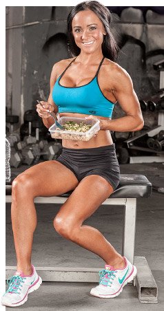 Success in the field of fitness requires making a life decision to eat healthfully and stick with it.