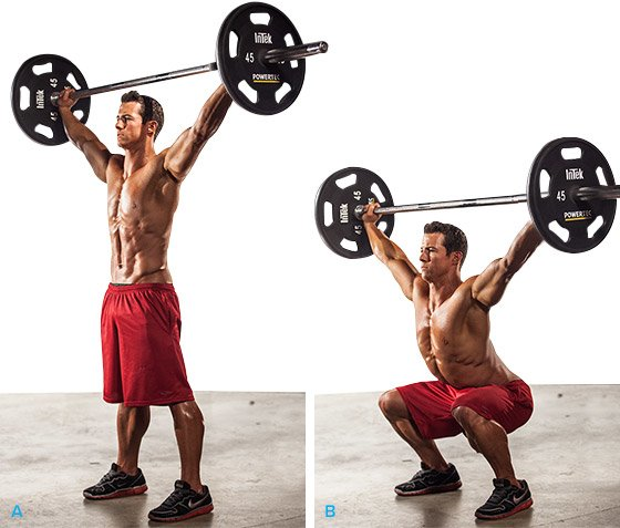 The overhead squat what is it good for