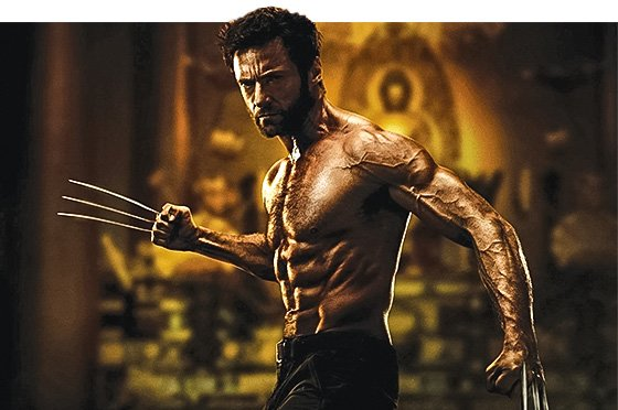Hugh Jackman Ripped OK  this guy could quite