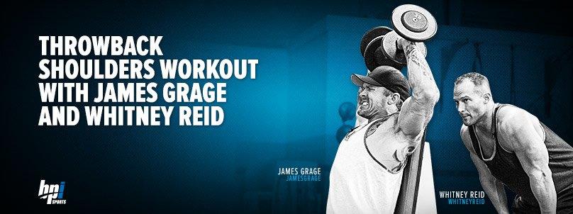 Throwback Shoulders Workout