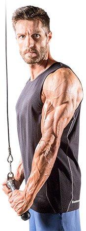 Every bodybuilder wants huge guns.