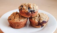HIGH-FIBER, PROTEIN-PACKED BREAKFAST MUFFINS