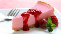 HIGH-PROTEIN BERRY CHEESECAKE